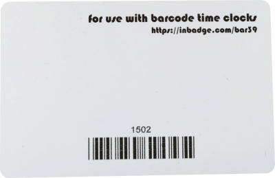 $1 50 Workforce Ready Barcode Cards | 100% Compatible Guaranteed