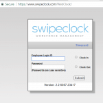 swipeclock.com employee login