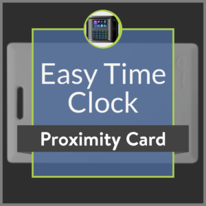 Easy Time Clock Proximity Badge Product Image