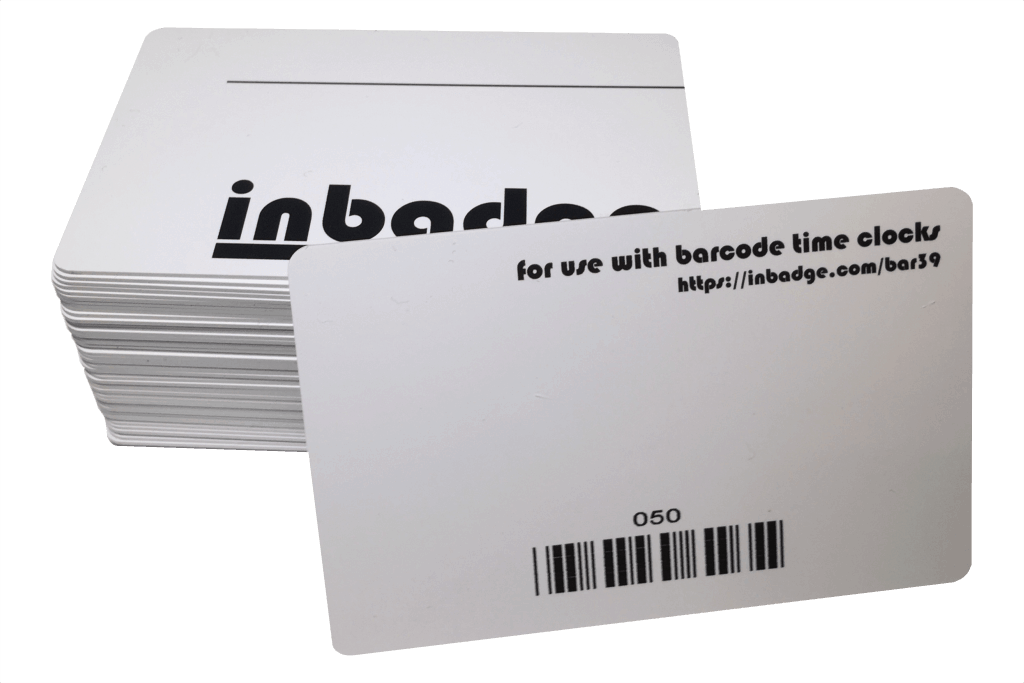50 Pack Barcode Badges