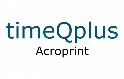 Acroprint TimeQPlus
