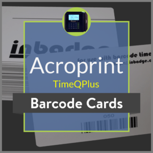 Acroprint TimeQPlus product image