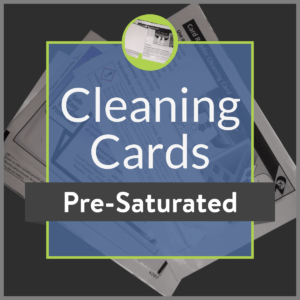 Pre-Saturated Cleaning Cards product image