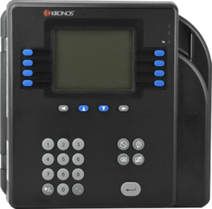 Kronos 4500 Barcode Time Clock