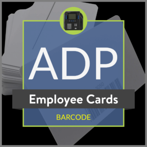 ADP Employee Barcode Card