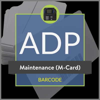 ADP Maintenance M Card
