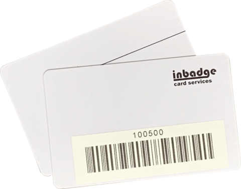 Barcode Badge with Sticker