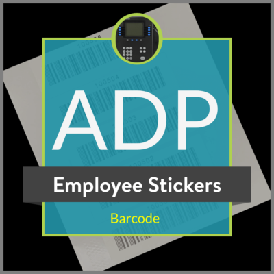 ADP Barcode Stickers