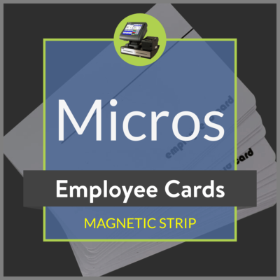 Micros Employee Card Product Image